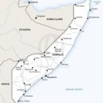 Map of Somalia political