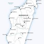 Map of Madagascar political