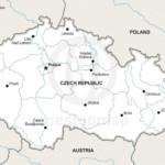 Map of Czech Republic political