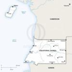 Map of Equatorial Guinea political
