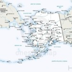 Vector map of Alaska political