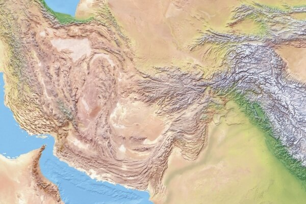 100% view on the shaded relief above (centered on Pakistan)