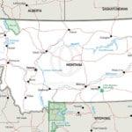 Map of Montana