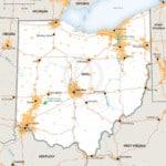 Stock vector Map of Ohio